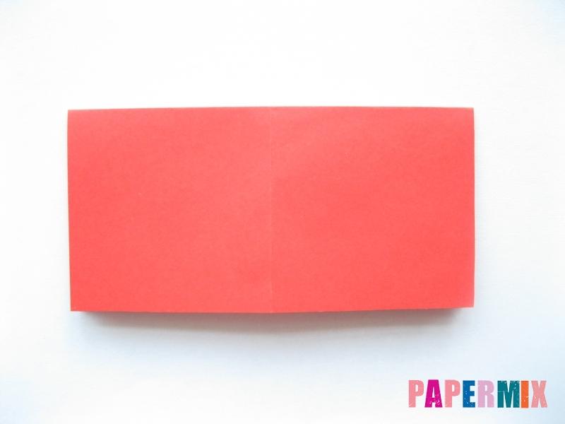 Как сделать самосвал из бумаги (оригами) своими руками - шаг 2