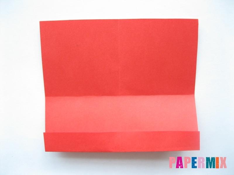 Как сделать самосвал из бумаги (оригами) своими руками - шаг 4