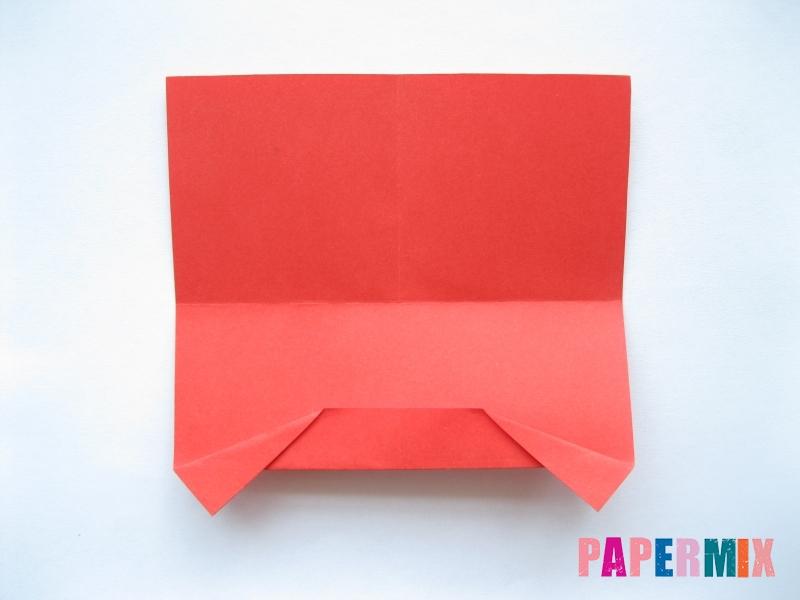 Как сделать самосвал из бумаги (оригами) своими руками - шаг 5