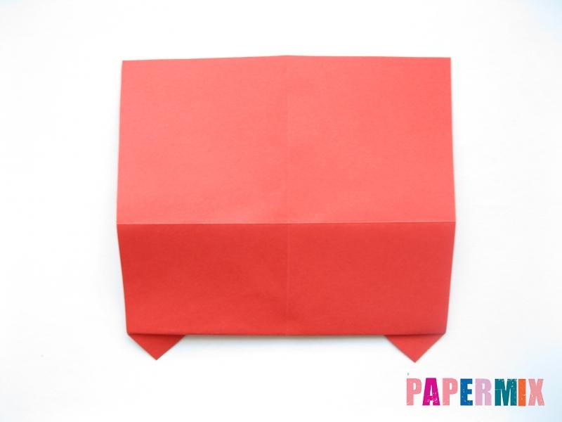 Как сделать самосвал из бумаги (оригами) своими руками - шаг 6