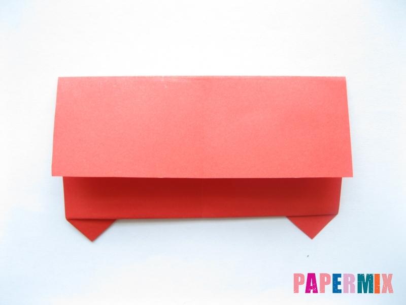 Как сделать самосвал из бумаги (оригами) своими руками - шаг 7