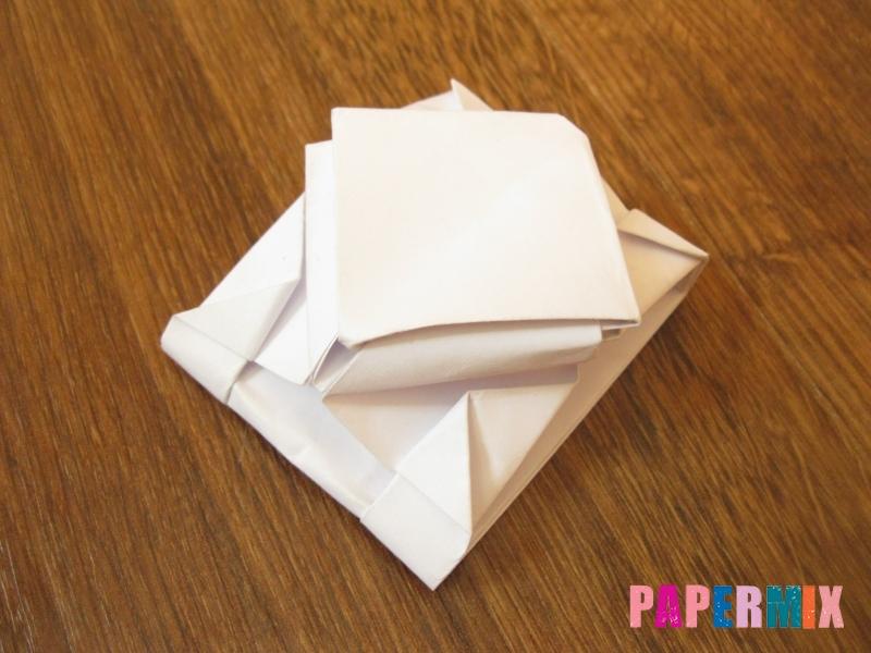 Как сделать танк Т-90 из бумаги (оригами) поэтапно - шаг 14