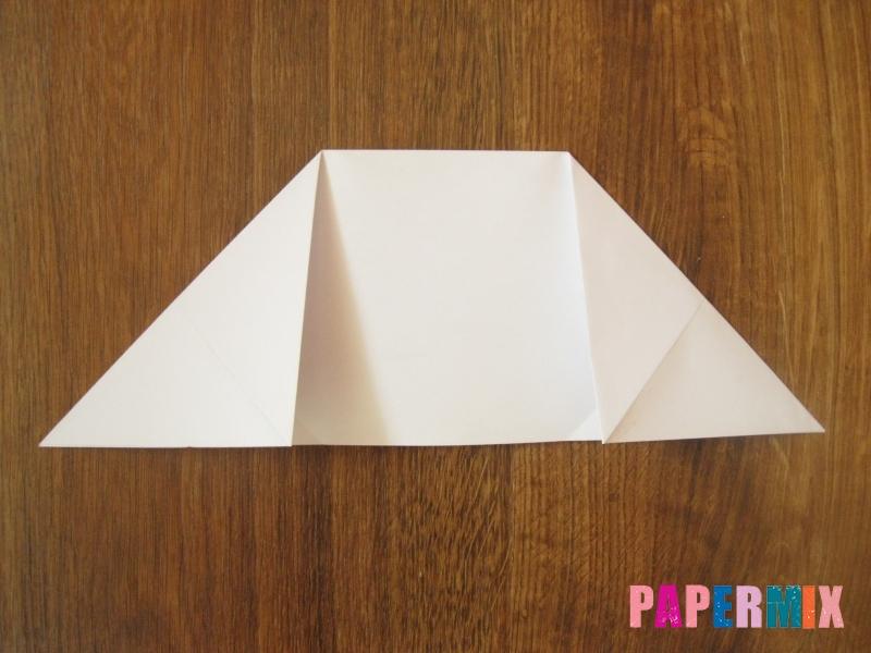 Как сделать танк Т-90 из бумаги (оригами) поэтапно - шаг 3