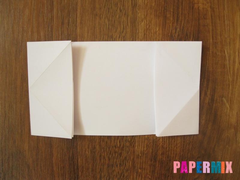 Как сделать танк Т-90 из бумаги (оригами) поэтапно - шаг 4