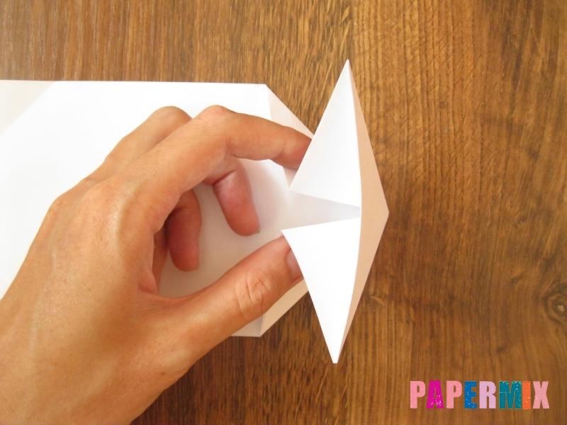Как сделать танк Т-90 из бумаги (оригами) поэтапно - шаг 5