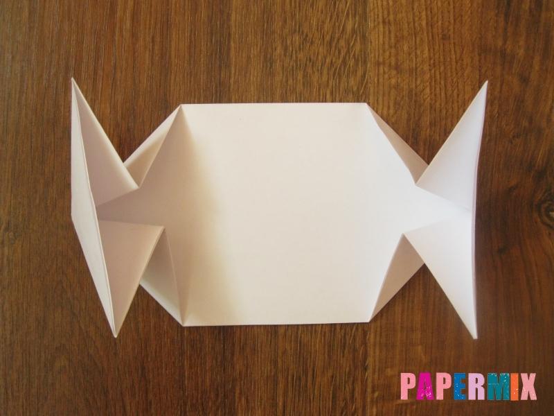 Как сделать танк Т-90 из бумаги (оригами) поэтапно - шаг 6