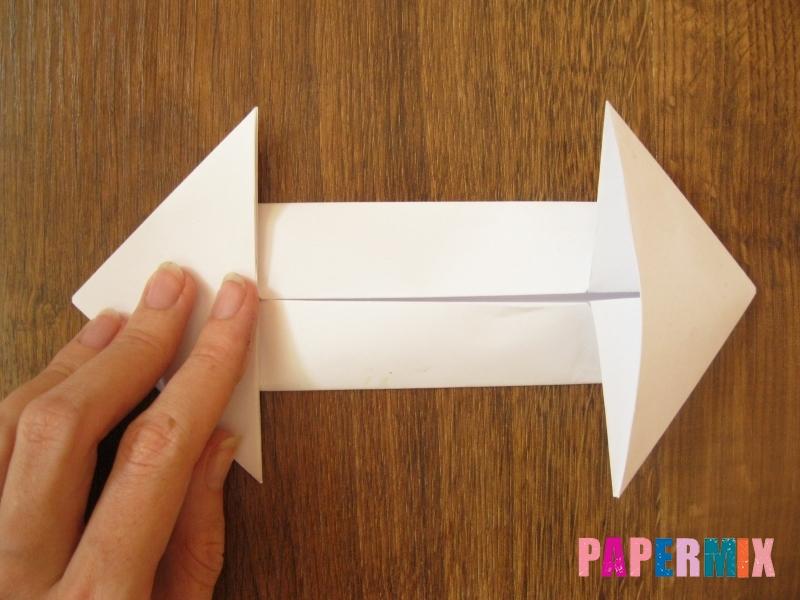 Как сделать танк Т-90 из бумаги (оригами) поэтапно - шаг 8