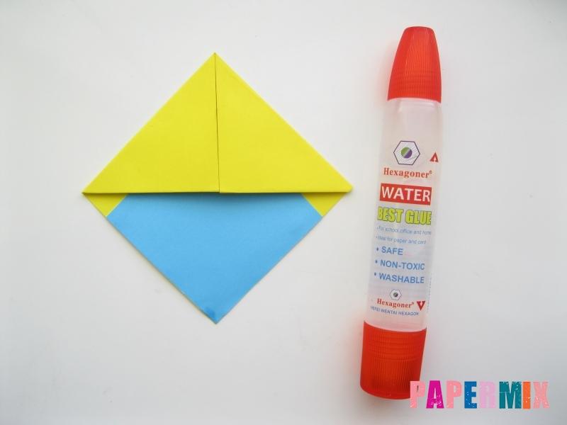 Как сделать закладку для книг в виде миньона из бумаги - шаг 10