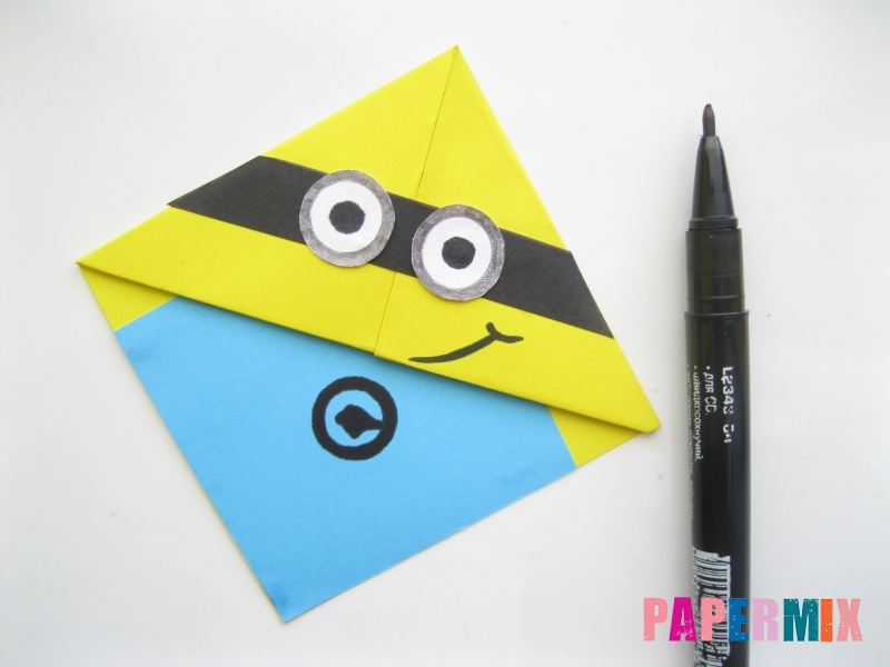 Как сделать закладку для тетради из бумаги