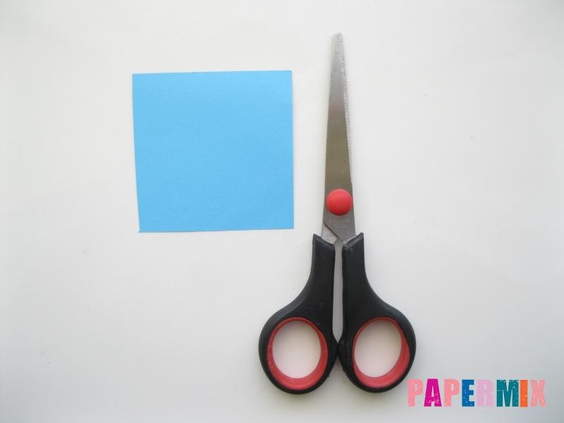 Как сделать закладку для книг в виде миньона из бумаги - шаг 9