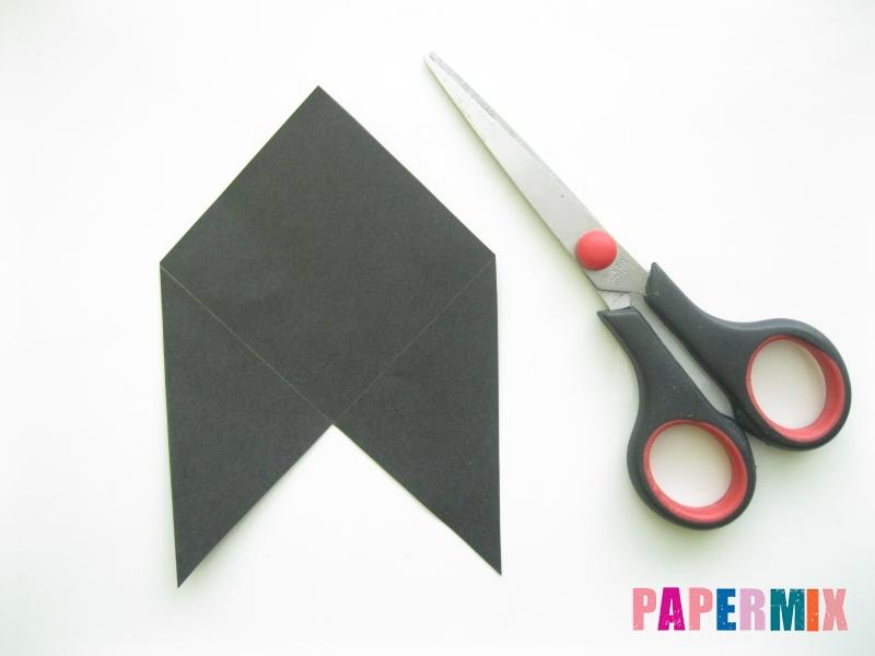 Как сделать закладку кота из бумаги своими руками - шаг 3