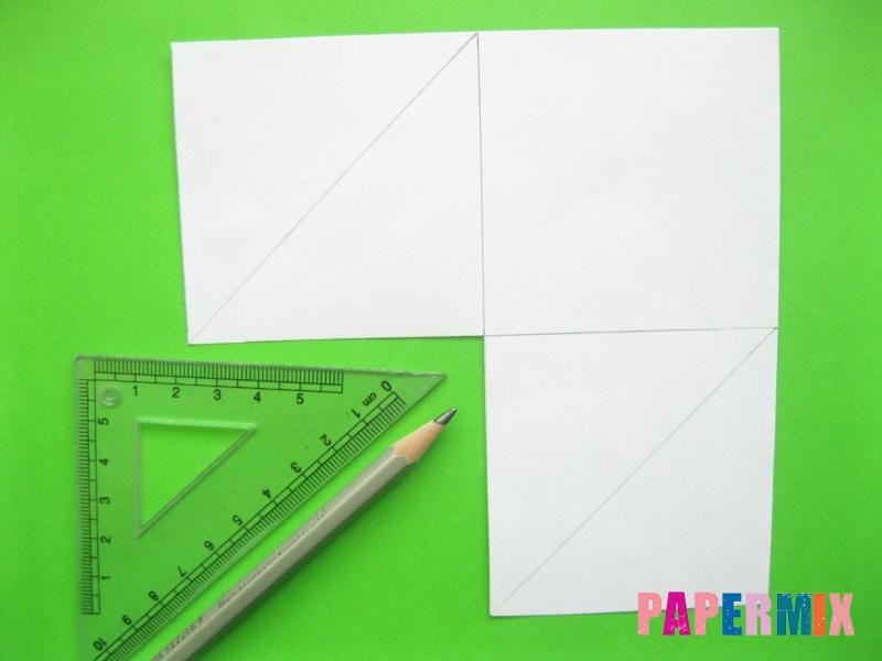 Как сделать закладку панду из бумаги своими руками - шаг 3