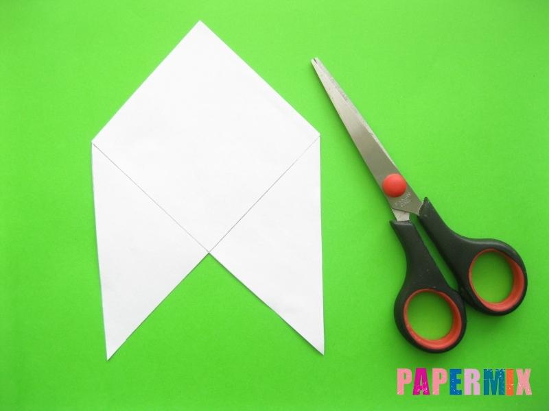 Как сделать закладку панду из бумаги своими руками - шаг 4