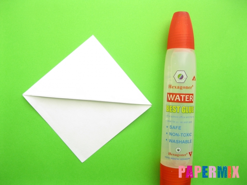 Как сделать закладку панду из бумаги своими руками - шаг 6