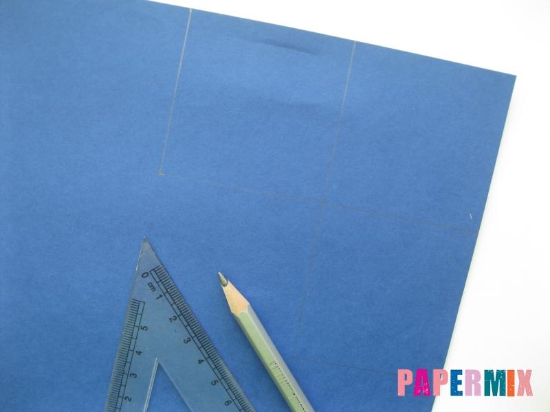 Как сделать закладку сову из бумаги своими руками - шаг 1