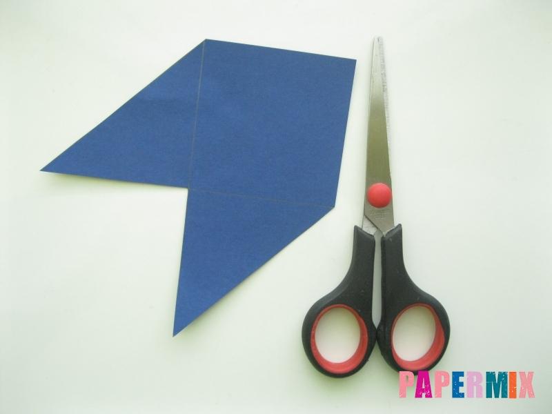 Как сделать закладку сову из бумаги своими руками - шаг 4