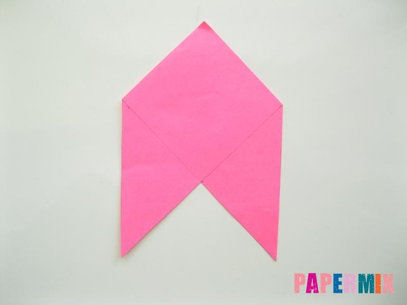 Как сделать закладку в форме зубастого монстра из бумаги - шаг 4