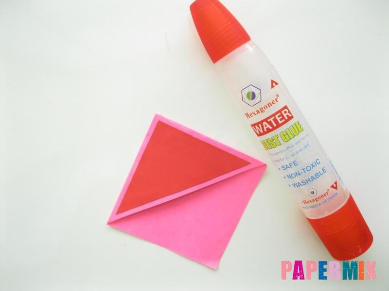 Как сделать закладку в форме зубастого монстра из бумаги - шаг 7