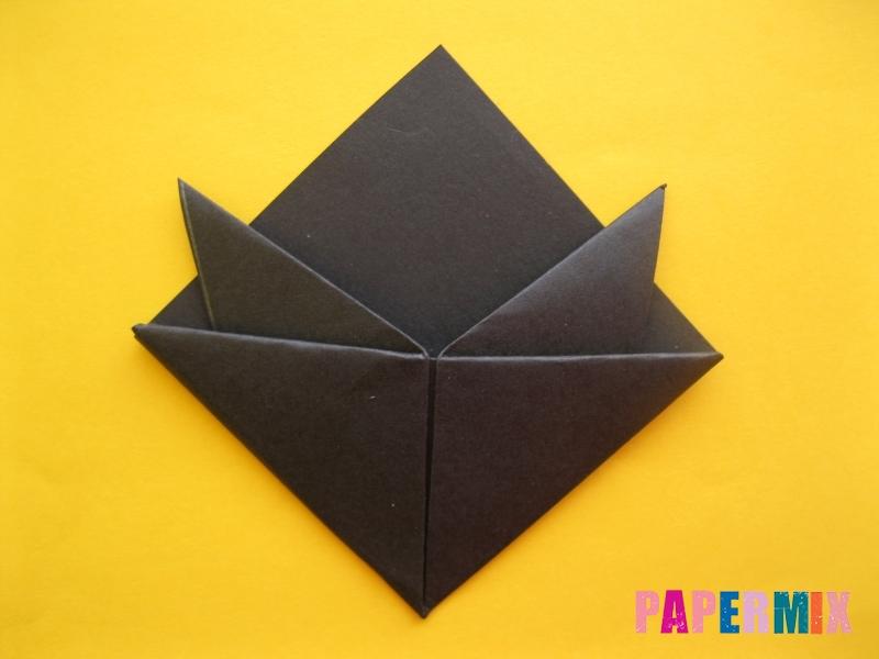 Как сделать закладку в виде енота из бумаги поэтапно - шаг 10
