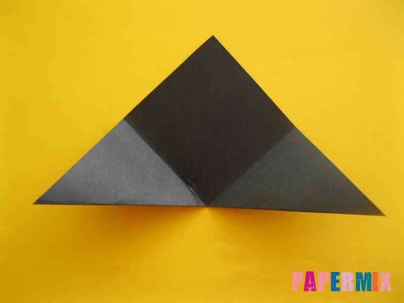 Как сделать закладку в виде енота из бумаги поэтапно - шаг 5