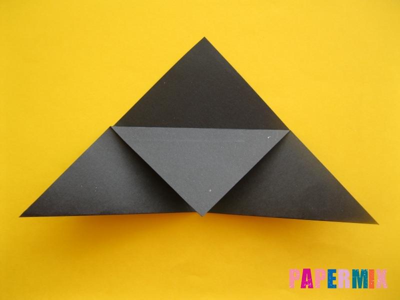 Как сделать закладку в виде енота из бумаги поэтапно - шаг 6