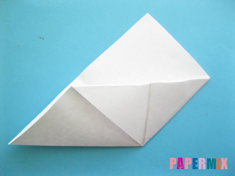 Как сделать закладку зайчик из бумаги поэтапно - шаг 8