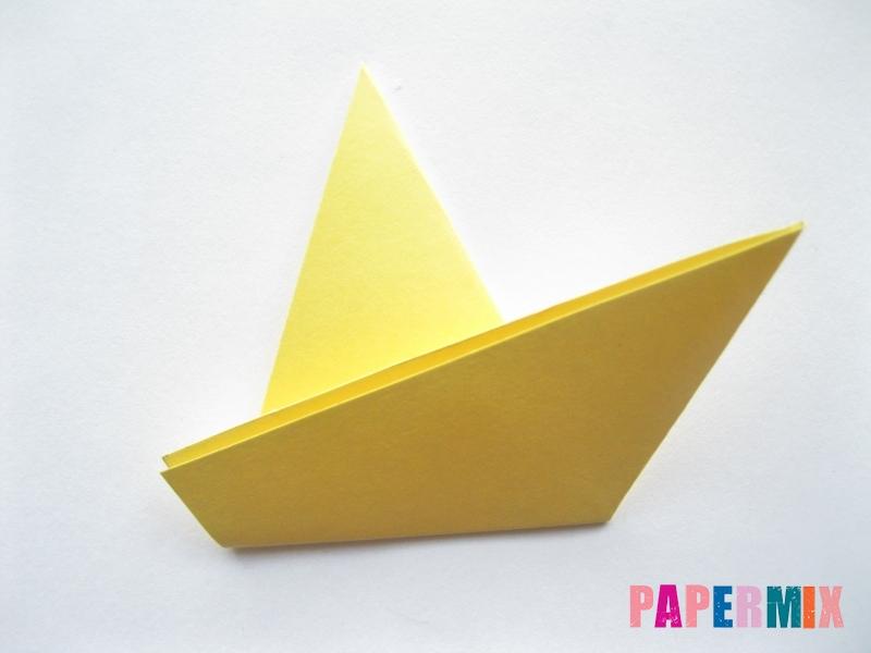 Как просто сделать лисичку из бумаги поэтапно - шаг 10