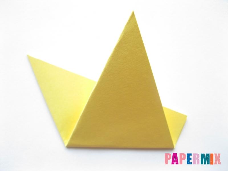 Как просто сделать лисичку из бумаги поэтапно - шаг 11