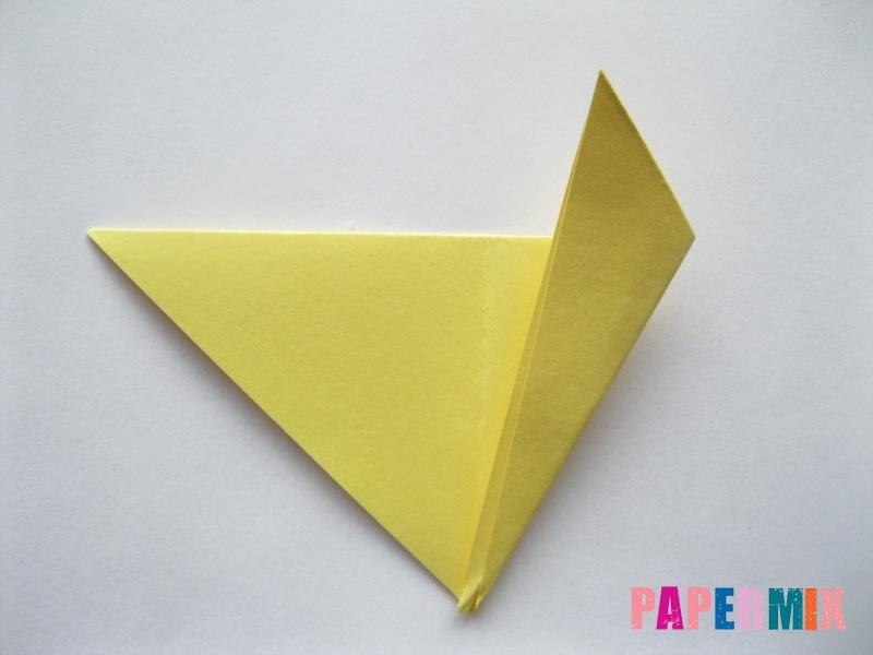 Как просто сделать лисичку из бумаги поэтапно - шаг 5