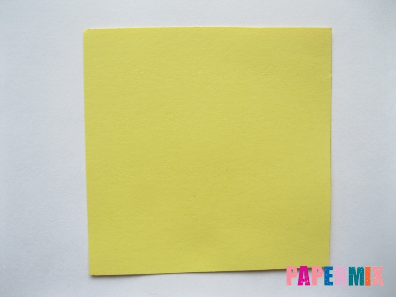 Как просто сделать лисичку из бумаги поэтапно - шаг 8