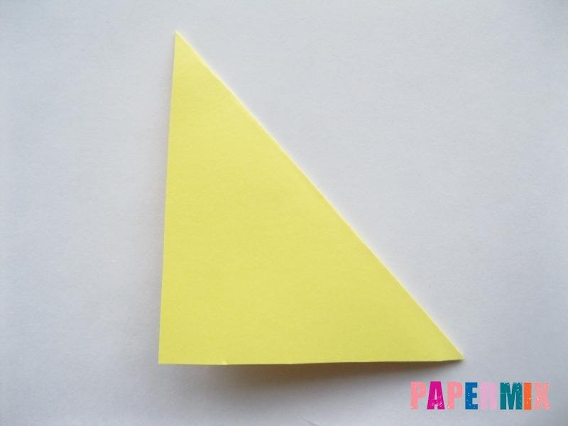 Как просто сделать лисичку из бумаги поэтапно - шаг 9