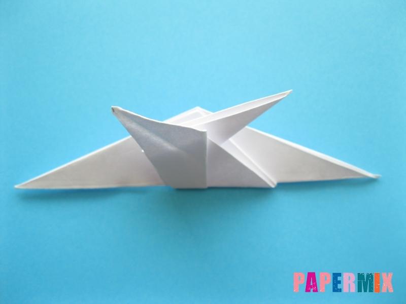 Как сделать акулу из бумаги (оригами) поэтапно - шаг 16