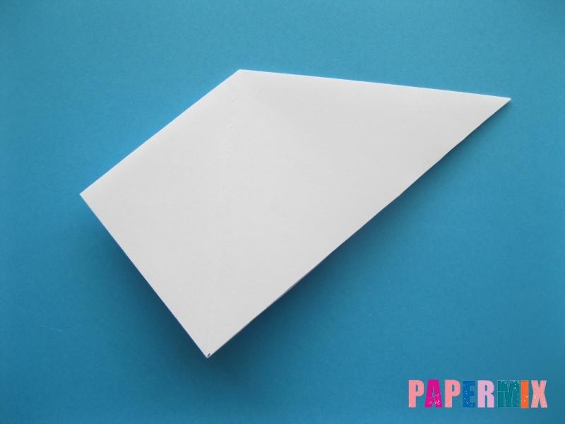 Как сделать акулу из бумаги (оригами) поэтапно - шаг 5