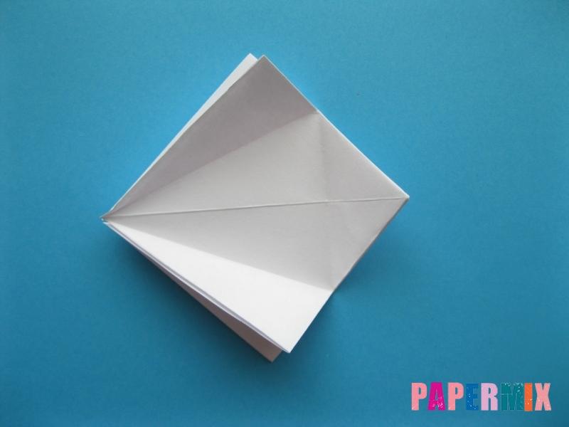 Как сделать акулу из бумаги (оригами) поэтапно - шаг 9