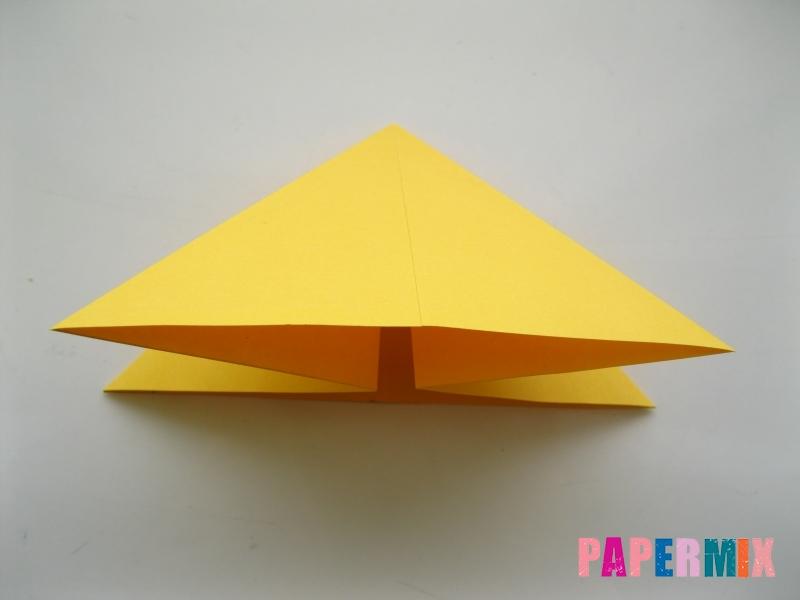 Как сделать бабочку из бумаги поэтапно - шаг 3