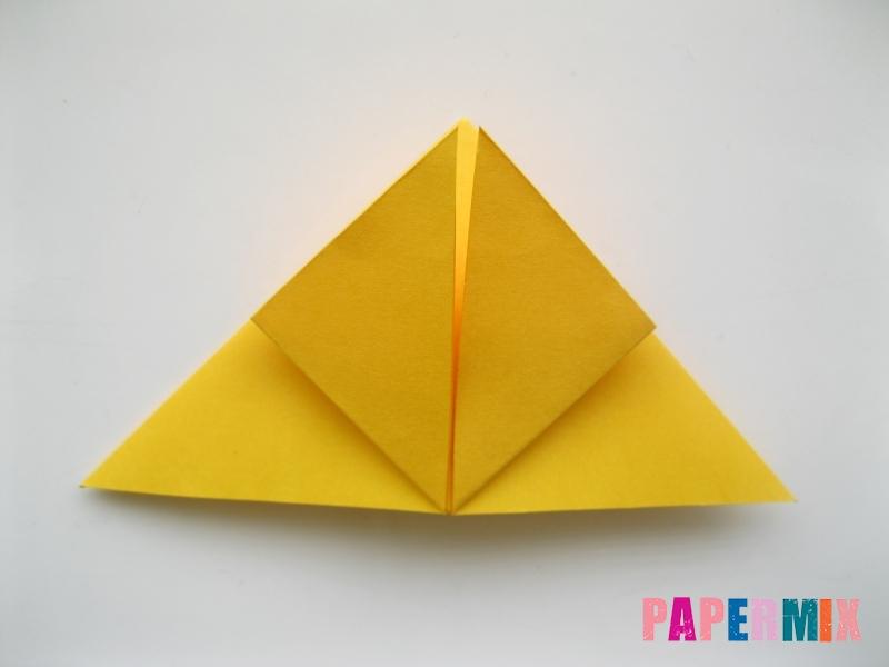Как сделать бабочку из бумаги поэтапно - шаг 4