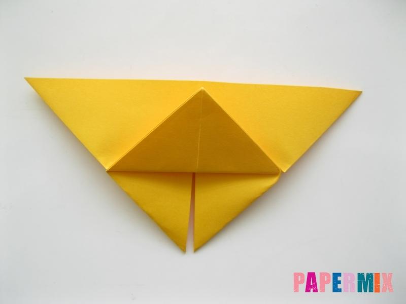Как сделать бабочку из бумаги поэтапно - шаг 6