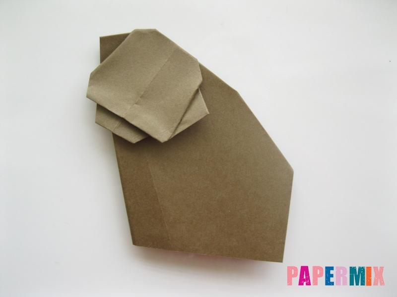 Как сделать бегемота из бумаги (оригами) поэтапно - шаг 10