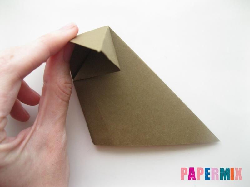 Как сделать бегемота из бумаги (оригами) поэтапно - шаг 6
