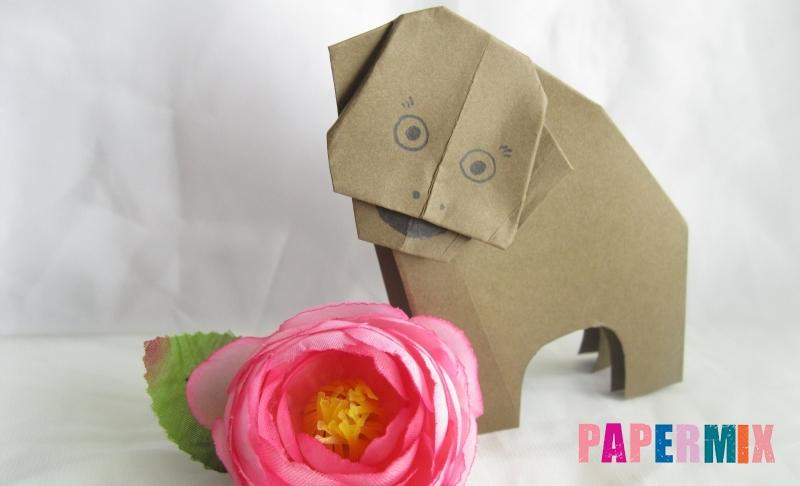 Как сделать бегемота из бумаги в технике оригами своими руками