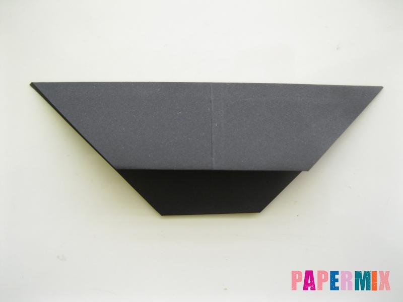 Как сделать черного кота из бумаги поэтапно - шаг 11