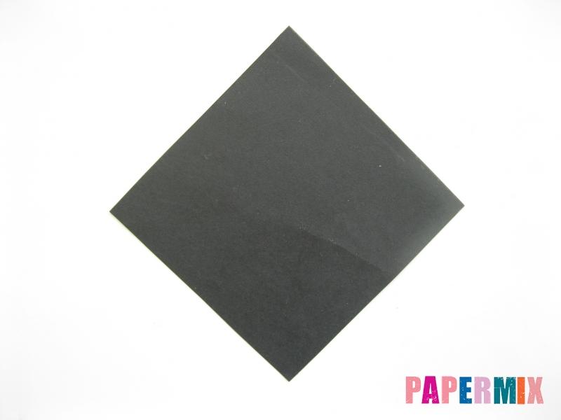 Как сделать черного кота из бумаги поэтапно - шаг 8