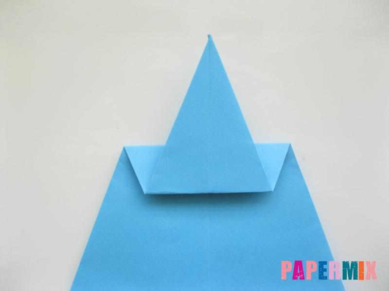 Как сделать дельфина из бумаги поэтапно - шаг 10