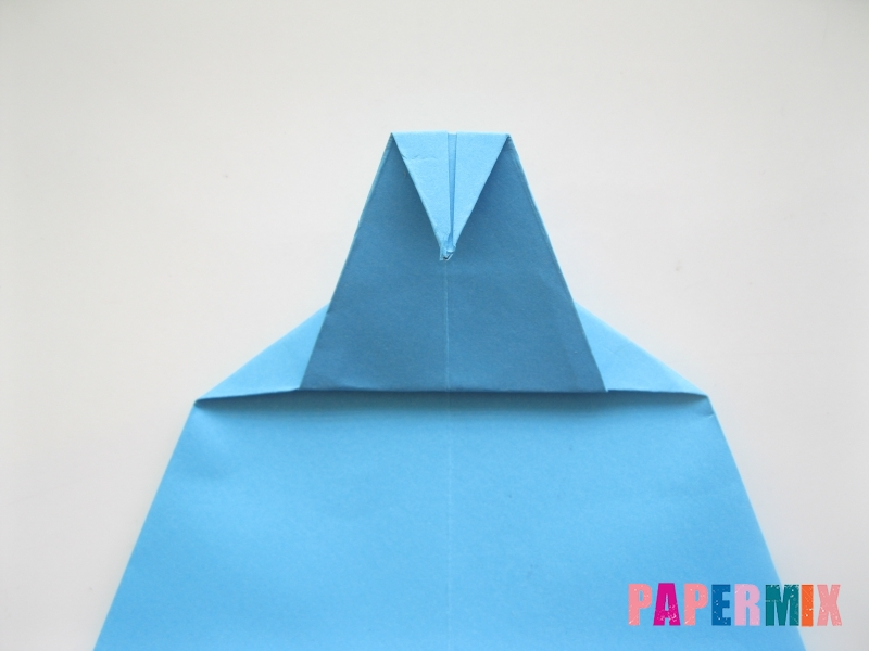 Как сделать дельфина из бумаги поэтапно - шаг 12