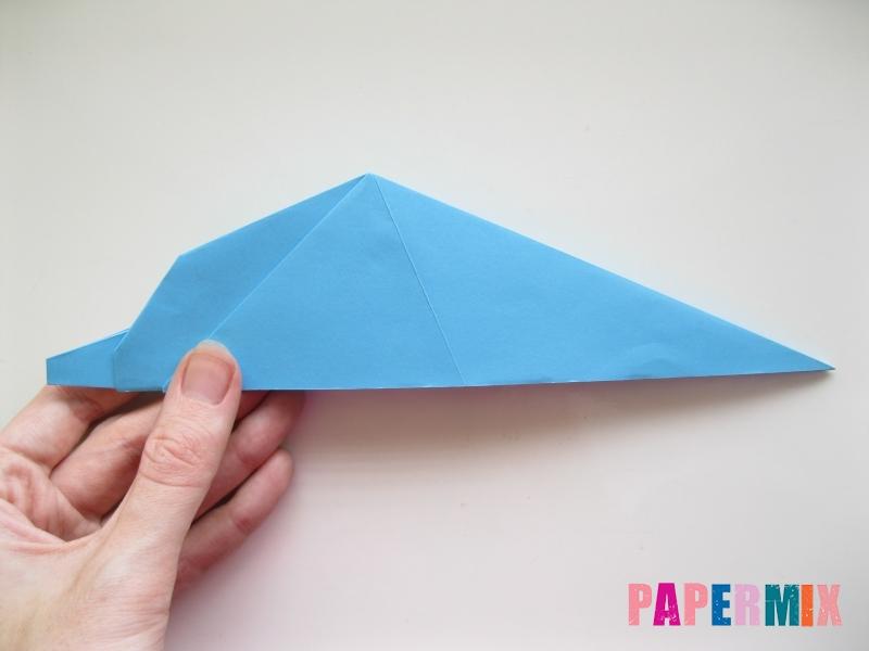 Как сделать дельфина из бумаги поэтапно - шаг 13