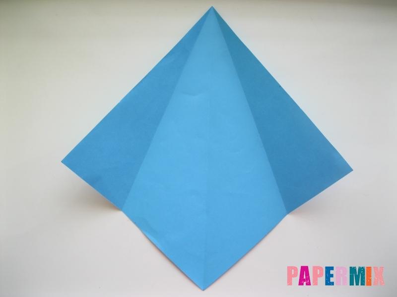 Как сделать дельфина из бумаги поэтапно - шаг 3