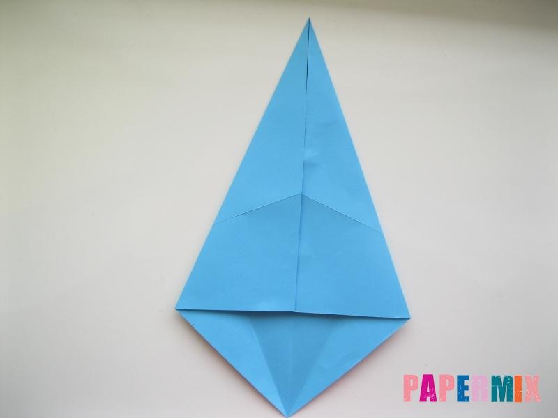 Как сделать дельфина из бумаги поэтапно - шаг 4