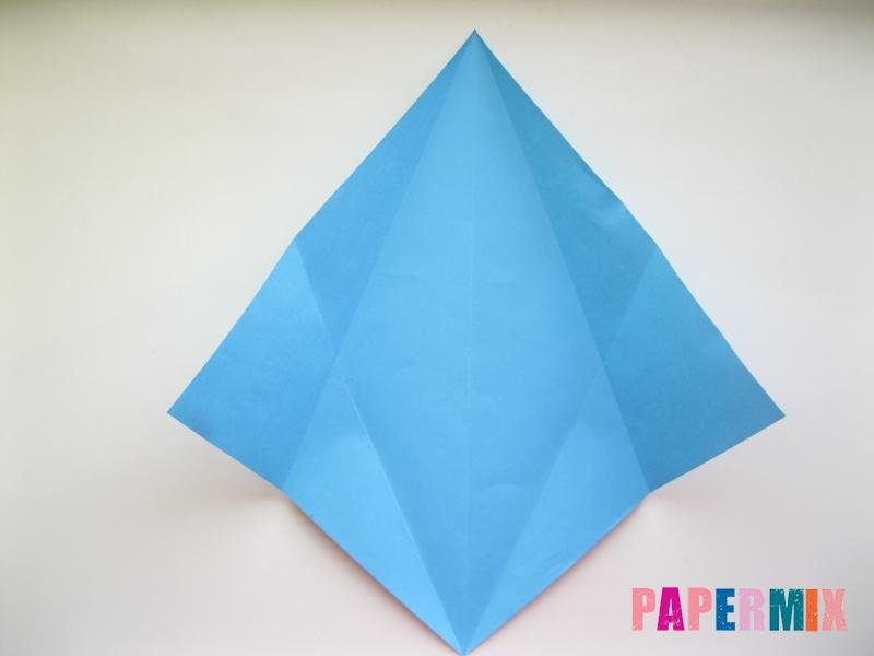 Как сделать дельфина из бумаги поэтапно - шаг 5