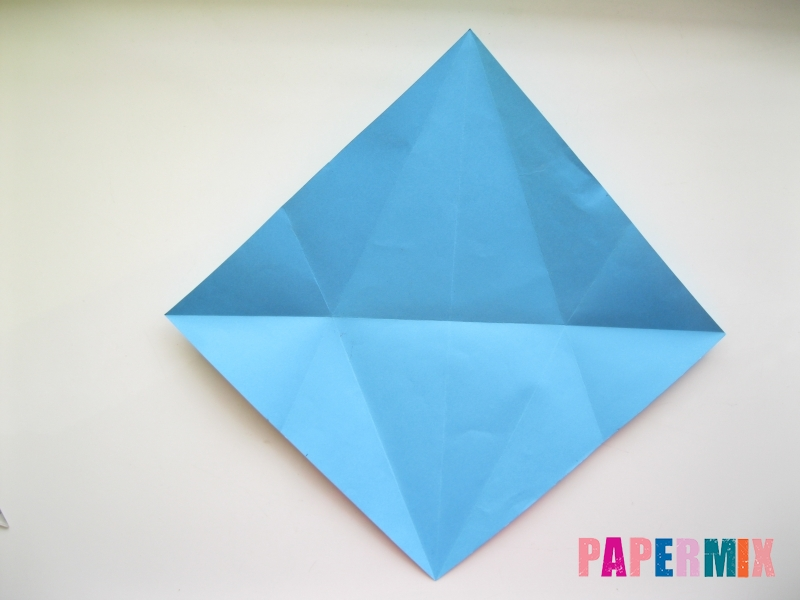 Как сделать дельфина из бумаги поэтапно - шаг 6