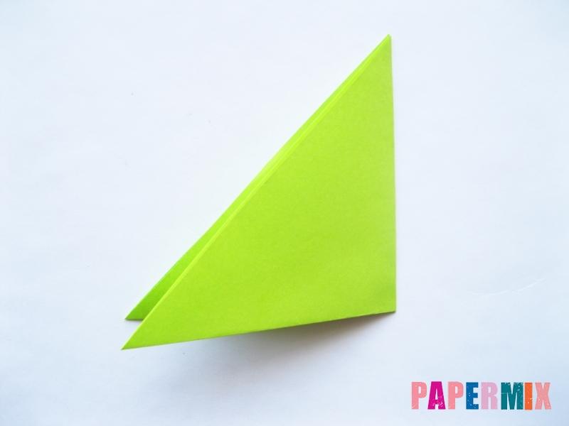 Как сделать голову лягушки из бумаги поэтапно - шаг 2
